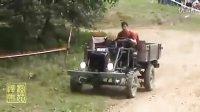 拖拉机也疯狂:(4)   自制拖拉机 越野大赛
