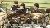 [中字]120514  KBS Cool FM洪贞京的两点 EXO-K