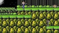 无聊我也玩一个 跑酷 跳跃式的魂斗罗