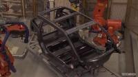 宝马i3的生产第3集 - 车身冲压,装配和喷漆