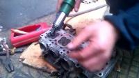 摩托车维修之CB400跑车磨气门