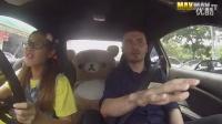 《汽车盒子》女赛车手扮菜鸟学车 表演漂移吓坏教练