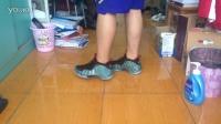 YY球鞋视频24.5 Air Foamposite One Prm 鱼骨喷上脚
