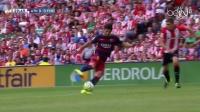 西甲-梅西失点球苏神绝杀 巴萨2将伤退1-0客场胜毕巴