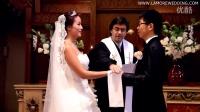 巴黎教堂婚礼-拉莫洛海外婚纱摄影