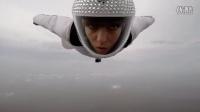 美女翼装飞行 挑战极限运动 为啥女生也可以玩极限运动