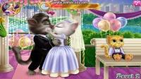 汤姆和安吉拉婚礼接吻会说话的汤姆猫 汤姆爱安吉拉汤姆猫搞笑视频 搞笑视频 我的会说话的汤姆猫他会发出咕噜声 我的汤姆猫与汤姆一起玩耍,享受欢乐和笑声