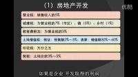大学演讲公开课:《中国税收专题》第04课  房地产税收政策剖析
