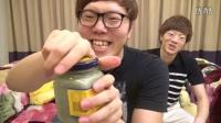 日本2兄弟挑战臭豆腐乳