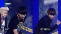[高清现场]中字 140831 @Inkigayo 防弹少年团(BTS) -- Dange+应援  现场版