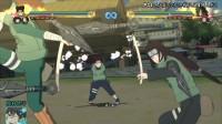 PS4《火影忍者终极风暴4博人传》天天宁次小李联手奥义演示