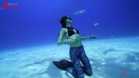 【去健身】美女潜水运动员 日常训练及保持困难重重