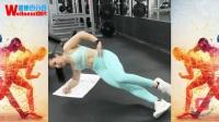 【去健身】10 你身边健身的女孩 Fitness Girls 健身美女 保持马甲线蜜桃臀