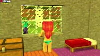 MC动画-3个僵尸没脑子吃-Ditzy Animations