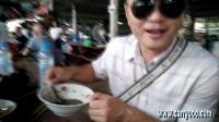 跟随Carryooo的当地人 在泰国最本土的丹嫩沙多水上市场吃小吃
