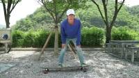 【长板教学】Doyoung教学8 - 180 Pivot -How To Longboard, 180 Pivot 8편 180 피봇