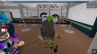 小飞象✘Roblox✘紧张刺激杀手模拟器被疯狂杀戮! 躲在厕所瑟瑟发抖! 乐高小游戏