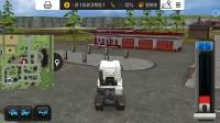 模拟农场16-谁的车速度快,看德国曼卡车VS原装皮卡