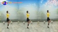 好心情蓝蓝广场舞原创【29】步子舞【DJ32步爱你在心间正背面】分解蓝蓝