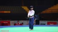 2017中国跆拳道公开赛 个人品势男子少年组 决赛 高丽 太极八章 林秋楠 亚军