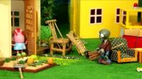乐玩小猪佩奇 第一季 第83集小猪佩奇乱扔垃圾 被僵尸超级飞侠教训 83