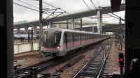 比利《上海地铁1号线》02 新车钢铁侠158号车锦江乐园上行进站