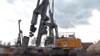 利勃海尔LB 28-320和LB 36-410旋挖钻机工作