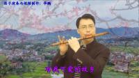 华鹏笛子演奏:在那桃花盛开的地方
