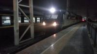 徐州站 K247次本务机上局徐段DF11G-0128/0127前来挂车