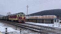 K266次 DF4D3031 通过绥佳线K179KM道口朗乡镇