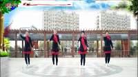好心情蓝蓝广场舞原创初学水兵舞【万树繁花正背面】附教学