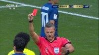 【红牌】本届世界杯第一张红牌!卡洛斯桑切斯故意手球送点