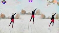 好心情蓝蓝广场舞原创【110】DJ健身舞【干就完了正背面】附教学