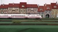 ICE高速火车模型