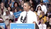 奥巴马来访肯特州立大学演讲 Obama visit Kent State University