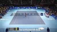 费德勒vs松加2012哥伦比亚表演赛 完整视频