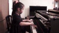 9岁小萝莉弹奏《b小调肖邦圆舞曲》,指法无懈可击!