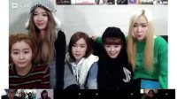 crayonpop 20121223 youtube live chat