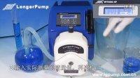 大流量工业蠕动泵WT600-4F分配校正功能演示视频
