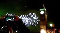 New year of 2013 of Big Ben, London
