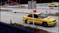 2013福州驾考科目二 错误的侧方停车