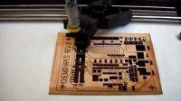 DIY自动绘图笔画一个PCB