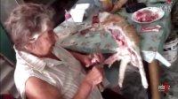 巴西老奶奶的午餐!