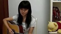 """广州芬达乐器公司首届""""芬达杯""""吉他弹唱比赛最佳表现奖《童年》"""