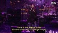 阿黛尔Adele-Lovesong Live on Letterman 中英字幕