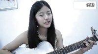 清纯妹子吉他弹唱《宝贝》
