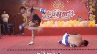 广州泰拳俱乐部春节联谊会泰拳王阿听VS神鳄实战对抗表演