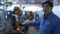 广州数控工业机器人实现车间自动化加