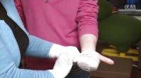 家庭救护日记 手心割伤包扎方法