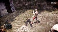 热血无赖(无间龙头)穿李小龙服装的主角被泰拳手揍